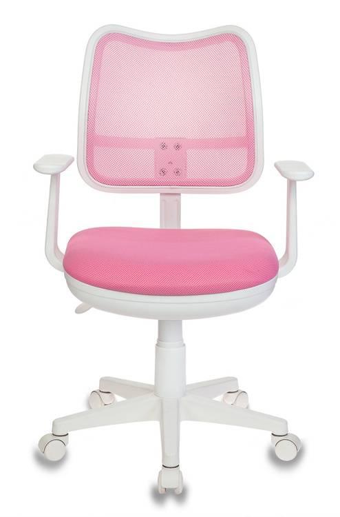 Кресло детское Бюрократ Ch-W797 розовый/розовый - фото 2