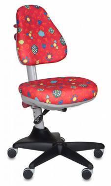 Кресло детское Бюрократ KD-2 / R / LB-Red красный