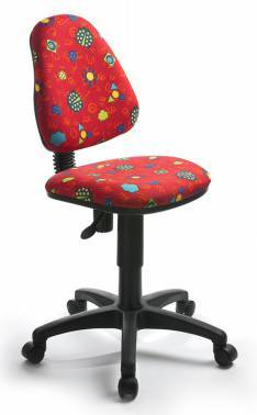 Кресло детское Бюрократ KD-4 / R красный