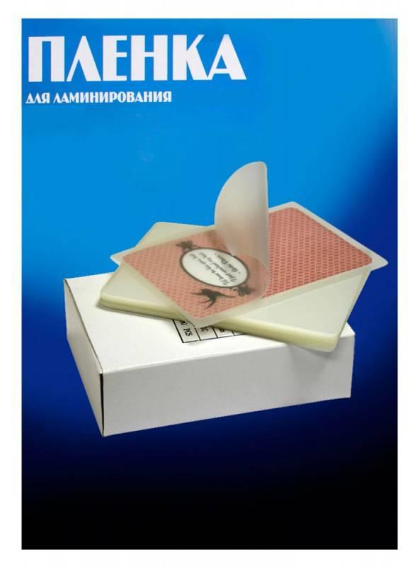 Пленка для ламинирования Office Kit PLP10605 100мкм (100шт) - фото 2
