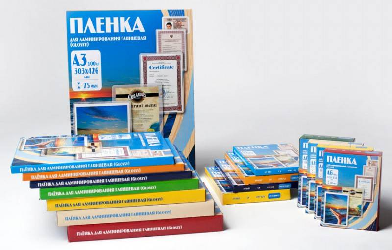 Пленка для ламинирования Office Kit PLP111*154/80 A6 80мкм (100шт) - фото 2