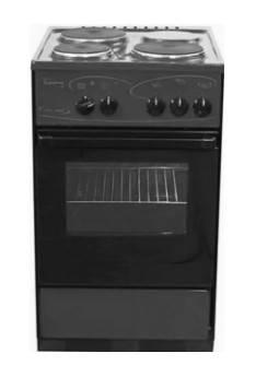 Плита электрическая Лысьва ЭП 301 черный