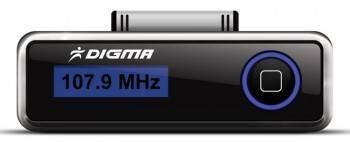 FM-модулятор Digma iFT503 черный