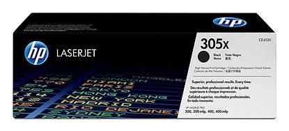 Тонер Картридж HP №305X CE410X черный - фото 1