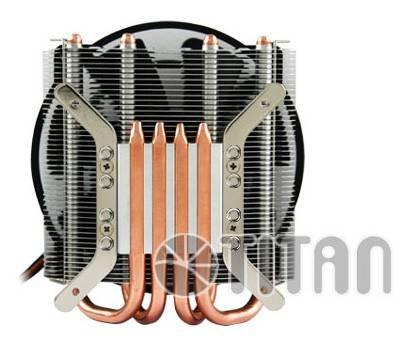 Устройство охлаждения(кулер) Titan TTC-NK96TZ/NPW Ret - фото 4