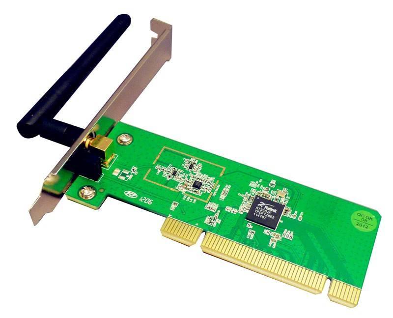 Сетевой адаптер WiFi Acorp WPCI-150N - фото 1