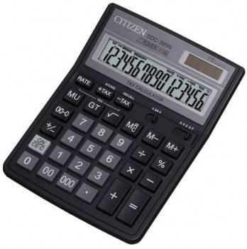 Калькулятор бухгалтерский Citizen SDC-395 N черный (SDC-395N)