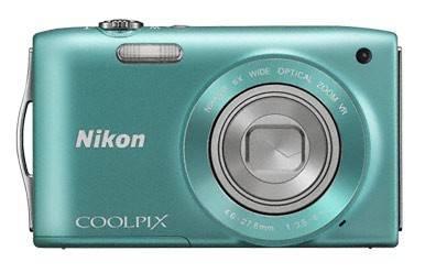 Фотоаппарат Nikon CoolPix S3300 зеленый - фото 1