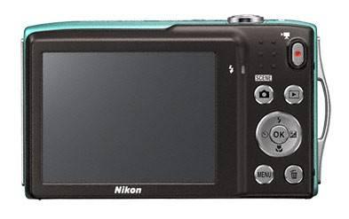 Фотоаппарат Nikon CoolPix S3300 зеленый - фото 2