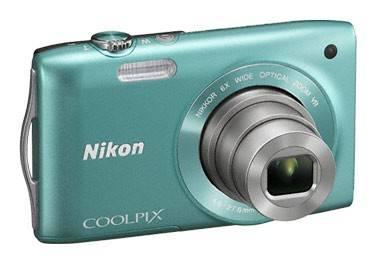 Фотоаппарат Nikon CoolPix S3300 зеленый - фото 3