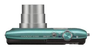 Фотоаппарат Nikon CoolPix S3300 зеленый - фото 4