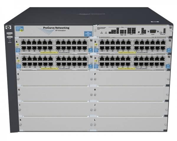 Коммутатор управляемый HP ProCurve 5412zl-96G (J8700A) - фото 1