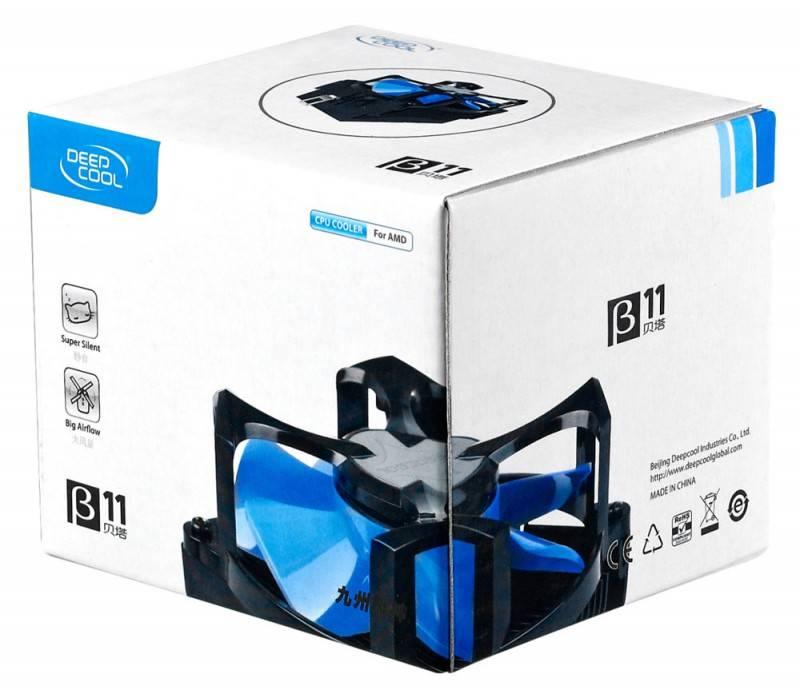 Устройство охлаждения(кулер) Deepcool Beta 11 Ret - фото 3