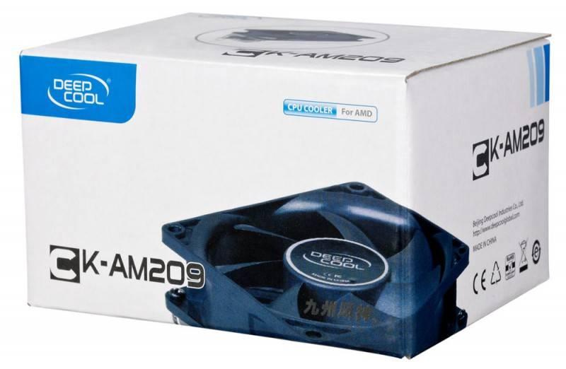 Устройство охлаждения(кулер) Deepcool CK-AM209 - фото 2