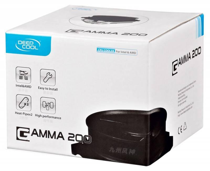 Устройство охлаждения(кулер) Deepcool GAMMA 200 Ret - фото 3