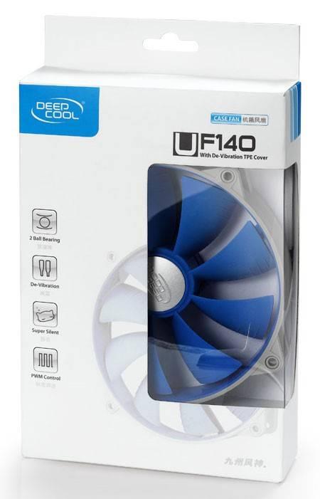 Вентилятор Deepcool UF 140 Ret - фото 3