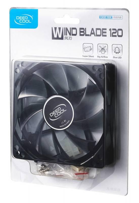 Вентилятор Deepcool WIND BLADE 120 Ret - фото 3