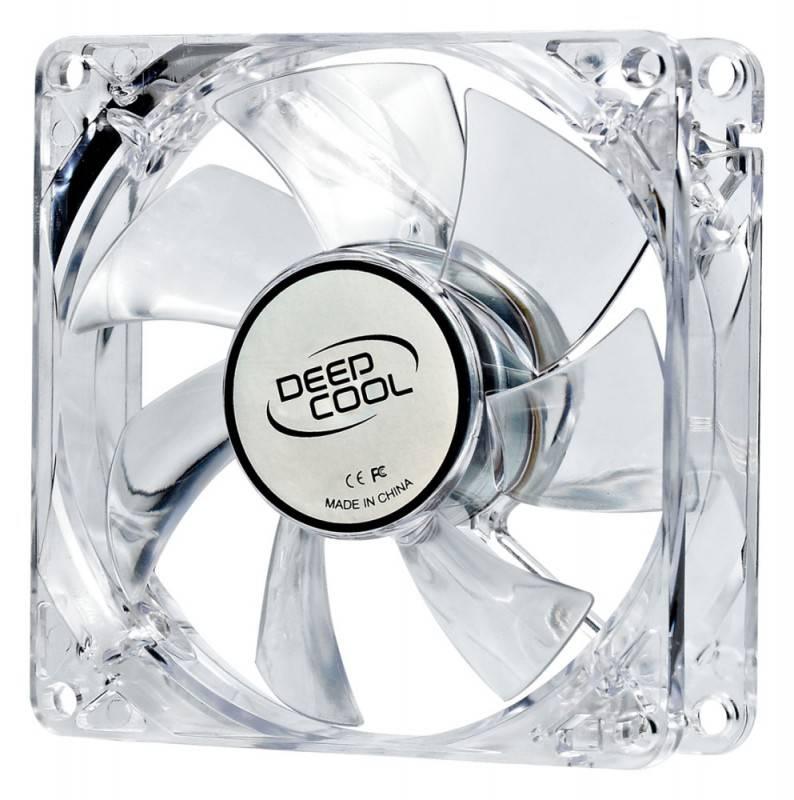 Вентилятор Deepcool XFAN 80L/R, размер 80x80x25мм - фото 1
