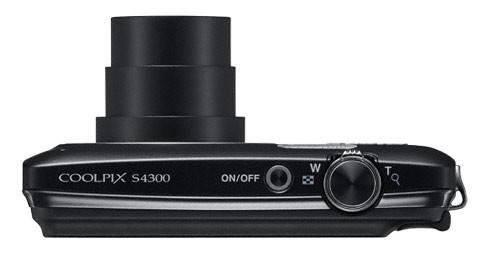 Фотоаппарат Nikon CoolPix S4300 черный - фото 3