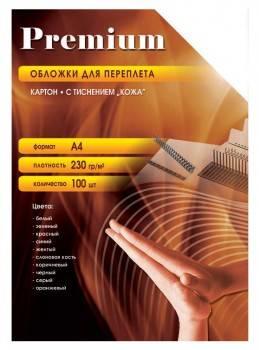 Обложки для переплёта Office Kit A4 230г / м2 красный (100шт) СRA400230