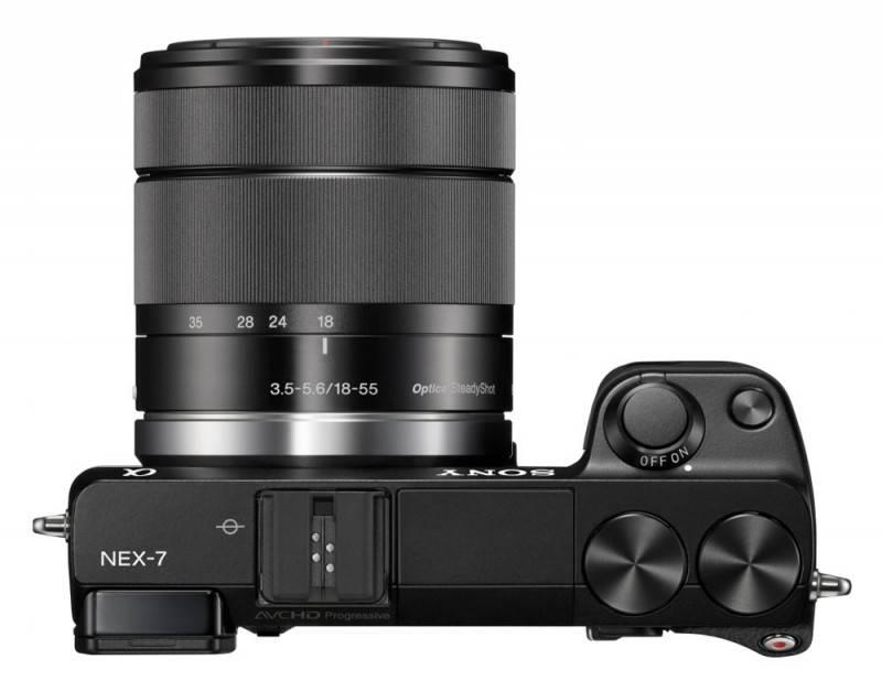 Фотоаппарат Sony Alpha NEX-7 kit черный - фото 4