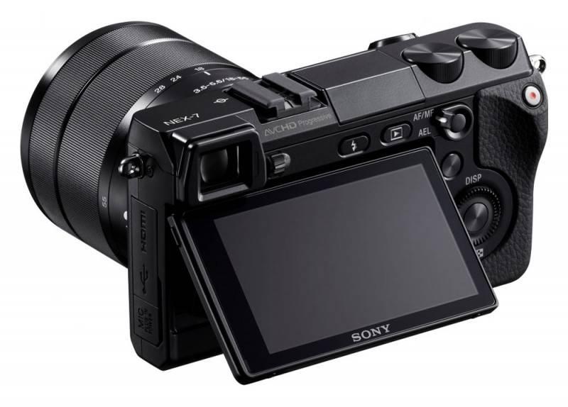 Фотоаппарат Sony Alpha NEX-7 kit черный - фото 5