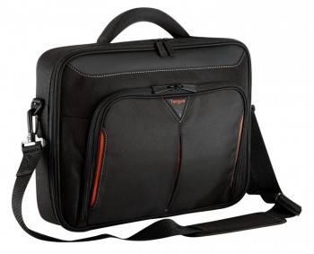 """Сумка для ноутбука 15.6"""" Targus CN415EU-50 черный/красный"""
