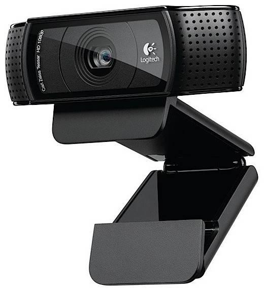 Веб-камера Logitech HD Pro Webcam C920 черный - фото 1