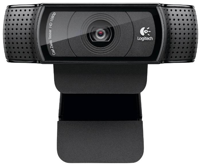 Веб-камера Logitech HD Pro Webcam C920 черный - фото 2