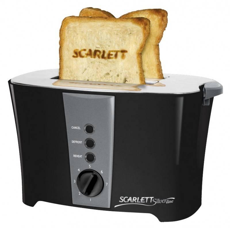 Тостер Scarlett SL-1516 черный - фото 1