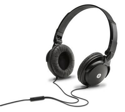 Наушники с микрофоном HP H2500 черный - фото 1