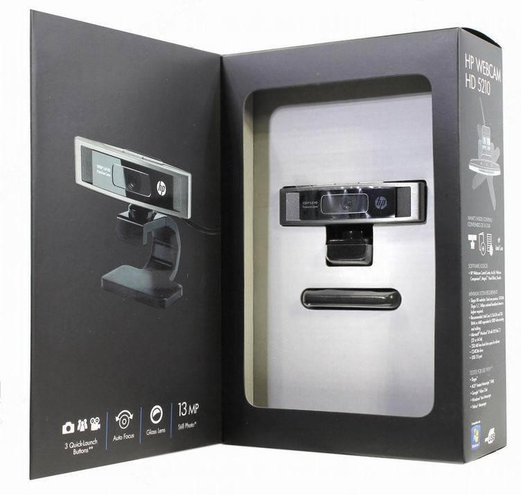 Веб-камера HP Webcam HD 5210 - фото 5