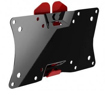 Кронштейн для телевизора Holder LCDS-5060 черный, рекомендуемая диагональ 19-32, максимальная нагрузка 30кг, настенный, фиксированный, угол наклона -5/+5°