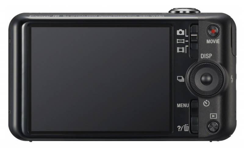 Фотоаппарат Sony Cyber-shot DSC-WX50 черный - фото 4