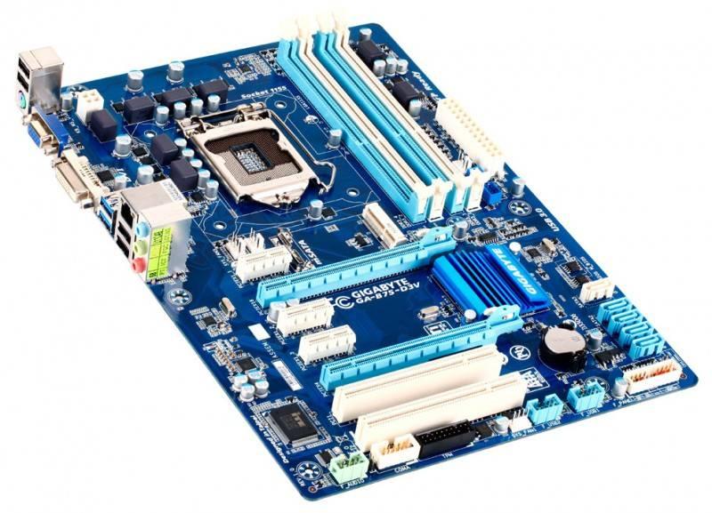 Материнская плата Soc-1155 Gigabyte GA-B75-D3V ATX - фото 1