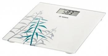 Весы напольные электронные Bosch PPW3303 белый / рисунок