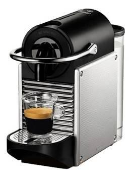 Кофемашина Delonghi Nespresso Pixie EN125.S серебристый (0132190542)