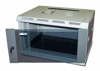 Шкаф настенный Lanmaster Pro TWT-CBW2-6U-6X4 6U серый