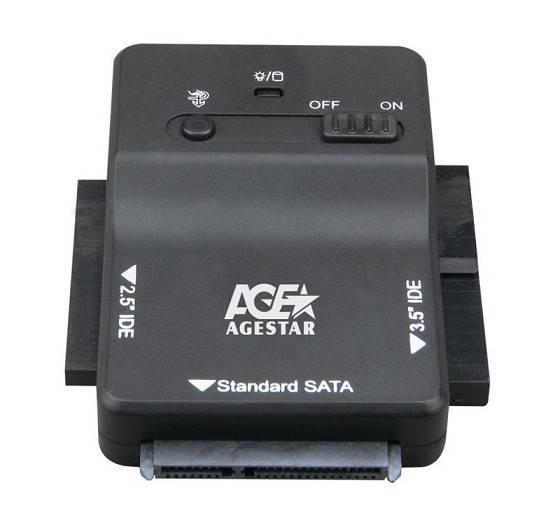 Адаптер-переходник AgeStar 3FBCP1 черный - фото 1