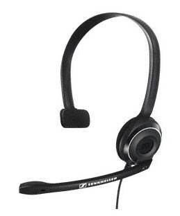 Наушники с микрофоном Sennheiser PC 7 черный (504196)