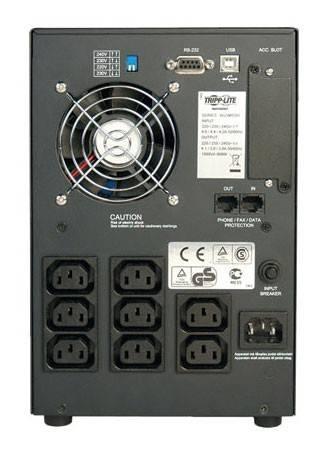 ИБП Tripplite SmartPro SMX1050SLT черный - фото 2