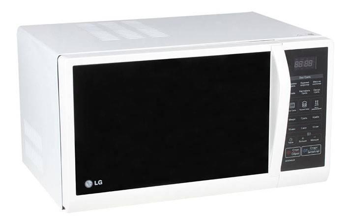 СВЧ-печь LG MG6349LM белый - фото 2