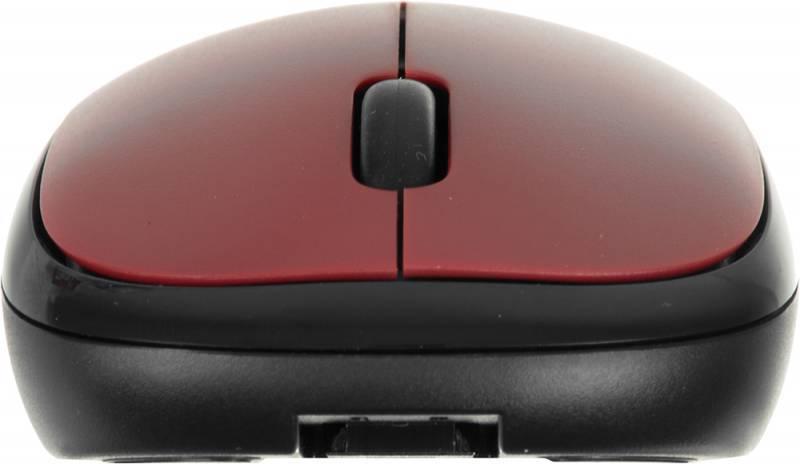Мышь Genius Traveler 6000 красный/черный - фото 5