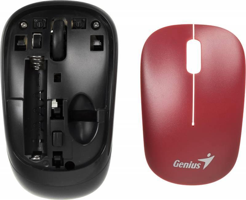 Мышь Genius Traveler 6000 красный/черный - фото 8