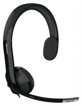 Наушники с микрофоном Microsoft LX-4000 черный
