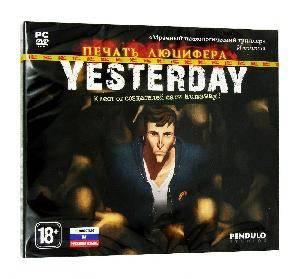 Игра для ПК Yesterday: Печать Люцифера PC DVD