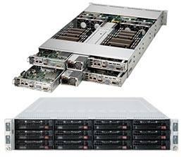 Серверная платформа Supermicro SYS-6027TR-H70RF - фото 1