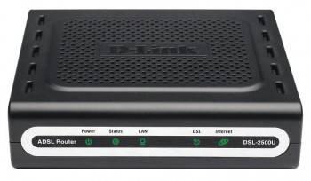 Модем xDSL D-Link DSL-2500U / BRC / D4 RJ-45 черный