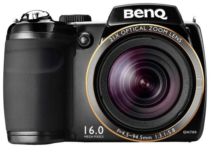 Фотоаппарат Benq GH700 черный - фото 1