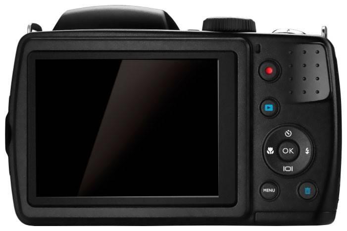 Фотоаппарат Benq GH700 черный - фото 2